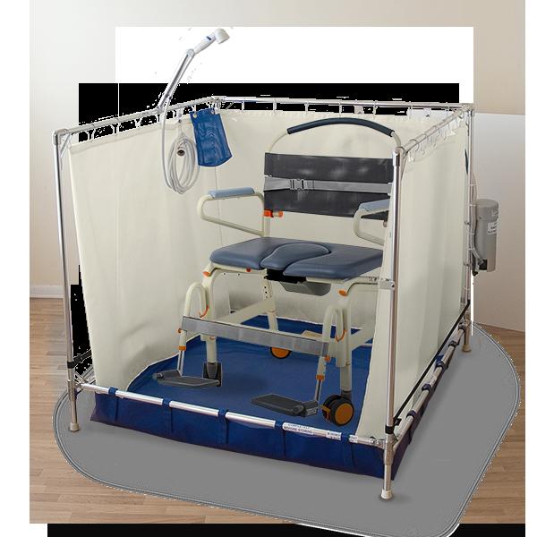 B5000-with-showerbuddy-chair